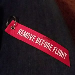Other - Remove Before Flight keychain